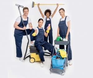 Strata Cleaning services team in Sydney